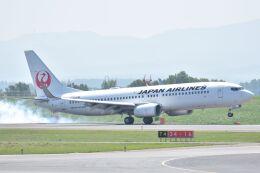 ながえいさんが、旭川空港で撮影した日本航空 737-846の航空フォト(飛行機 写真・画像)