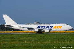 kina309さんが、成田国際空港で撮影したアトラス航空 747-4B5F/ER/SCDの航空フォト(飛行機 写真・画像)