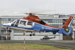 K.Sさんが、東京ヘリポートで撮影した川崎市消防航空隊 AS365N3 Dauphin 2の航空フォト(飛行機 写真・画像)