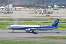 Hiro-hiroさんが、羽田空港で撮影した全日空 A321-272Nの航空フォト(飛行機 写真・画像)