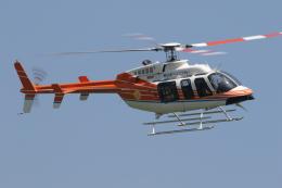 ゴンタさんが、東京ヘリポートで撮影した新日本ヘリコプター 407GXiの航空フォト(飛行機 写真・画像)