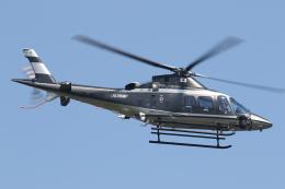 ゴンタさんが、東京ヘリポートで撮影した警視庁 A109S Trekkerの航空フォト(飛行機 写真・画像)