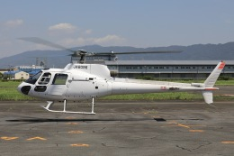 Hii82さんが、八尾空港で撮影した日本個人所有 AS350B Ecureuilの航空フォト(飛行機 写真・画像)