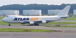 Rsaさんが、成田国際空港で撮影したアトラス航空 747-4B5F/ER/SCDの航空フォト(飛行機 写真・画像)