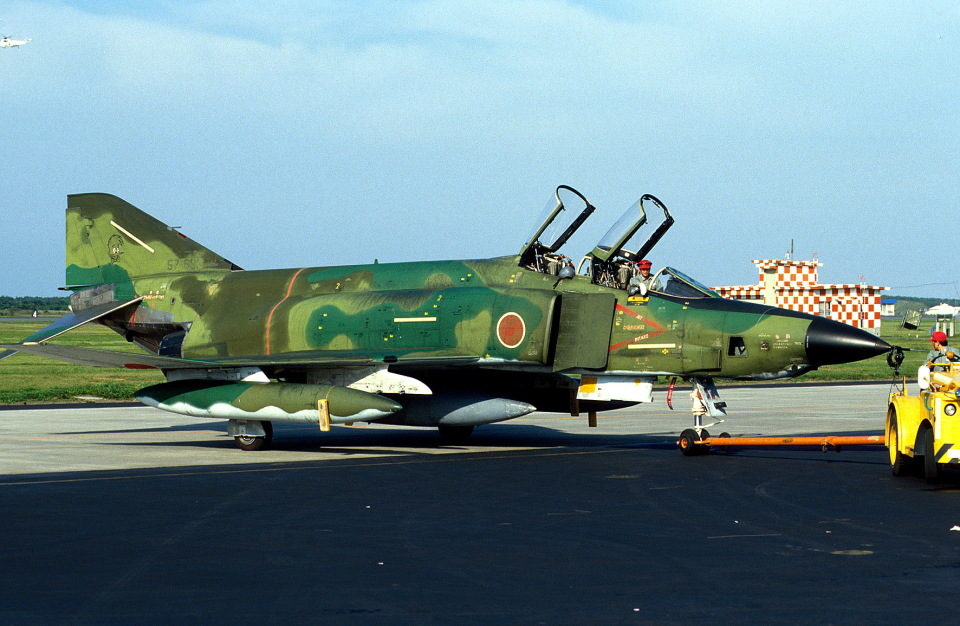 Y.Todaさんの航空自衛隊 McDonnell Douglas RF-4E Phantom II (57-6907) 航空フォト