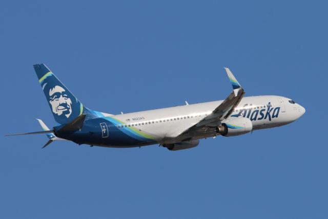 2019年02月23日に撮影されたアラスカ航空の航空機写真