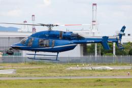 (新)ふぁんとむ改さんが、奈多ヘリポートで撮影した西日本空輸 427の航空フォト(飛行機 写真・画像)