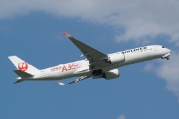 航空フォト:JA01XJ 日本航空 A350-900