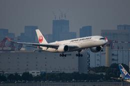 ゆーすきんさんが、羽田空港で撮影した日本航空 A350-941の航空フォト(飛行機 写真・画像)