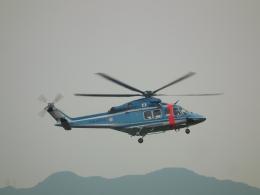 ヒコーキグモさんが、岡南飛行場で撮影した北海道警察 AW139の航空フォト(飛行機 写真・画像)