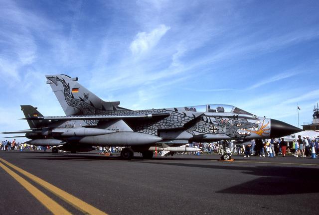 JAパイロットさんが、フェアフォード空軍基地で撮影したドイツ空軍 Tornado ECRの航空フォト(飛行機 写真・画像)