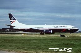 tassさんが、ロンドン・ガトウィック空港で撮影したブリティッシュ・エアウェイズ 737-4S3の航空フォト(飛行機 写真・画像)