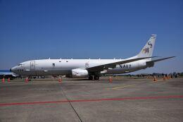 パール大山さんが、厚木飛行場で撮影したアメリカ海軍 P-8A (737-8FV)の航空フォト(飛行機 写真・画像)