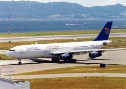 rokko2000さんが、関西国際空港で撮影したエジプト航空 A340-212の航空フォト(飛行機 写真・画像)