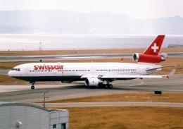 rokko2000さんが、関西国際空港で撮影したスイス航空 MD-11の航空フォト(飛行機 写真・画像)