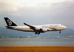 rokko2000さんが、関西国際空港で撮影したニュージーランド航空 747-419の航空フォト(飛行機 写真・画像)