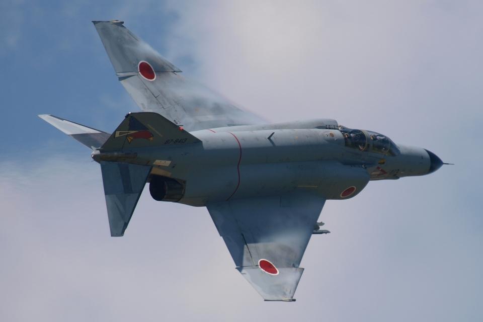 木人さんの航空自衛隊 Mitsubishi F-4EJ Kai Phantom II (87-8413) 航空フォト
