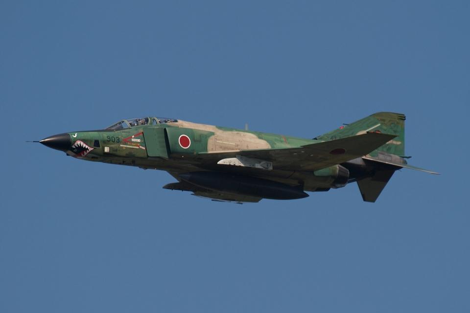 木人さんの航空自衛隊 McDonnell Douglas RF-4E Phantom II (47-6903) 航空フォト