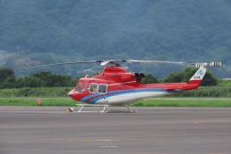 F.YUKIHIDEさんが、岡南飛行場で撮影した石川県消防防災航空隊 412EPの航空フォト(飛行機 写真・画像)