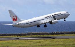 航空フォト:JA330J 日本航空 737-800