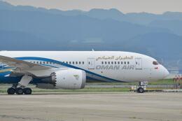 天心さんが、関西国際空港で撮影したオマーン航空 787-8 Dreamlinerの航空フォト(飛行機 写真・画像)