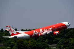 チャーリーマイクさんが、成田国際空港で撮影したタイ・エアアジア・エックス A330-343Eの航空フォト(飛行機 写真・画像)