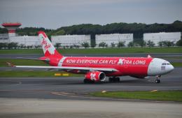 チャーリーマイクさんが、成田国際空港で撮影したタイ・エアアジア・エックス A330-343Xの航空フォト(飛行機 写真・画像)