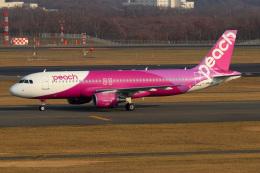 ドガースさんが、新千歳空港で撮影したピーチ A320-214の航空フォト(飛行機 写真・画像)