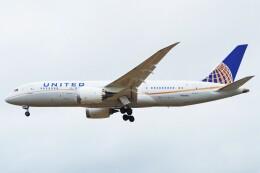 ちっとろむさんが、ロンドン・ヒースロー空港で撮影したユナイテッド航空 787-8 Dreamlinerの航空フォト(飛行機 写真・画像)
