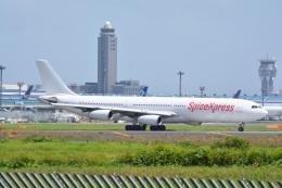 LEGACY-747さんが、成田国際空港で撮影したスパイスジェット A340-313Xの航空フォト(飛行機 写真・画像)