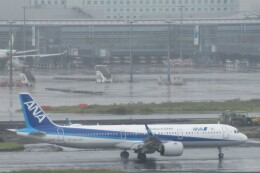 ななけーさんが、羽田空港で撮影した全日空 A321-272Nの航空フォト(飛行機 写真・画像)