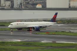 DBACKさんが、羽田空港で撮影したデルタ航空 A350-941の航空フォト(飛行機 写真・画像)