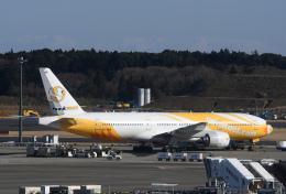 チャーリーマイクさんが、成田国際空港で撮影したノックスクート 777-212/ERの航空フォト(飛行機 写真・画像)