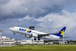 wing-aceさんが、下地島空港で撮影したスカイマーク 737-8FZの航空フォト(飛行機 写真・画像)