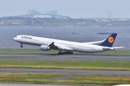 パール大山さんが、羽田空港で撮影したルフトハンザドイツ航空 A340-642Xの航空フォト(飛行機 写真・画像)