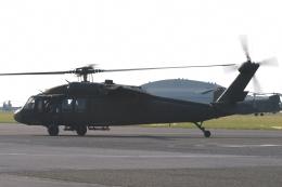 木人さんが、木更津飛行場で撮影したアメリカ陸軍 UH-60A Black Hawk (S-70A)の航空フォト(飛行機 写真・画像)