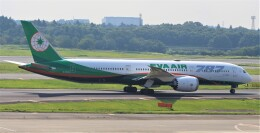 Rsaさんが、成田国際空港で撮影したエバー航空 787-9の航空フォト(飛行機 写真・画像)