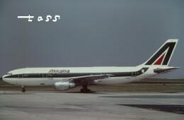 tassさんが、パリ シャルル・ド・ゴール国際空港で撮影したアリタリア航空 A300B4-203の航空フォト(飛行機 写真・画像)