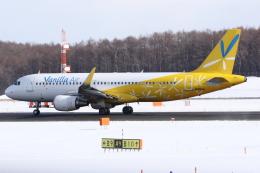 kinsanさんが、新千歳空港で撮影したバニラエア A320-214の航空フォト(飛行機 写真・画像)