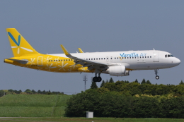 kinsanさんが、成田国際空港で撮影したバニラエア A320-214の航空フォト(飛行機 写真・画像)