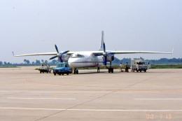 apphgさんが、西安咸陽国際空港で撮影した長安航空 Y-7の航空フォト(飛行機 写真・画像)