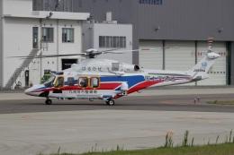MOR1(新アカウント)さんが、奈多ヘリポートで撮影した国土交通省 地方整備局 AW139の航空フォト(飛行機 写真・画像)