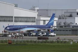 Sharp Fukudaさんが、成田国際空港で撮影したアゼルバイジャン航空 A340-542の航空フォト(飛行機 写真・画像)