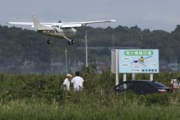 Sharp Fukudaさんが、龍ケ崎飛行場で撮影した新中央航空 172P Skyhawkの航空フォト(飛行機 写真・画像)