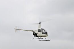 ヘリオスさんが、東京ヘリポートで撮影した日本フライトセーフティ R22 Betaの航空フォト(飛行機 写真・画像)
