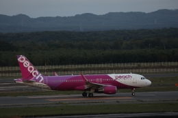 ゆうゆう@NGOさんが、新千歳空港で撮影したピーチ A320-214の航空フォト(飛行機 写真・画像)