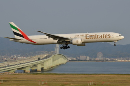 Deepさんが、関西国際空港で撮影したエミレーツ航空 777-36N/ERの航空フォト(飛行機 写真・画像)
