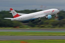 Souma2005さんが、成田国際空港で撮影したオーストリア航空 777-2Z9/ERの航空フォト(飛行機 写真・画像)