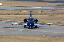TAKAHIDEさんが、新潟空港で撮影した航空自衛隊 U-125A(Hawker 800)の航空フォト(飛行機 写真・画像)