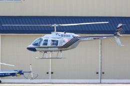 レガシィさんが、宇都宮飛行場で撮影したヘリサービス 206B-3 JetRanger IIIの航空フォト(飛行機 写真・画像)